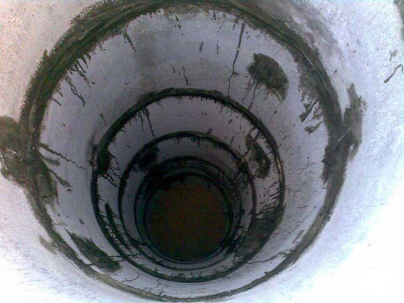 Герметизация стыков бетонных труб