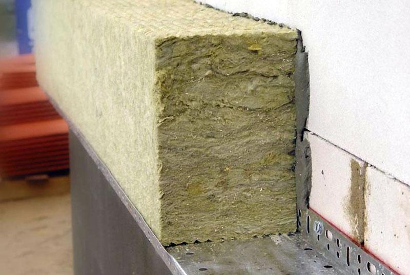 Утепление наружных стен минватой