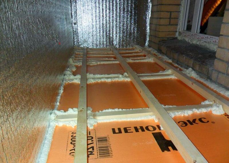 Пеноплекс для утепления зданий