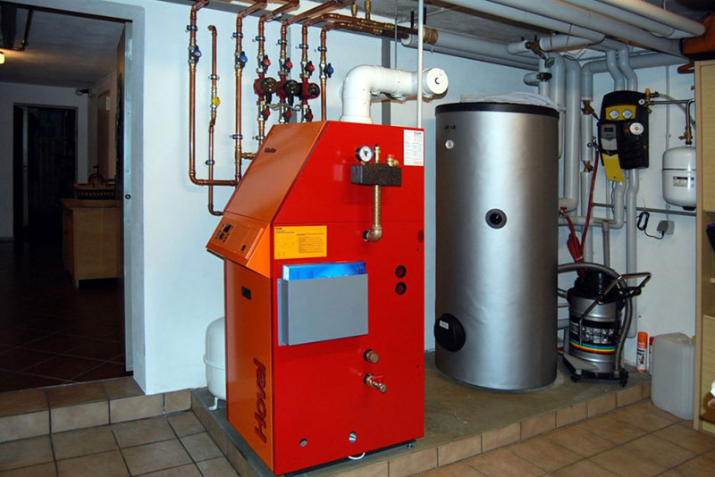 Эргономичное устройство котельной на дизтопливе
