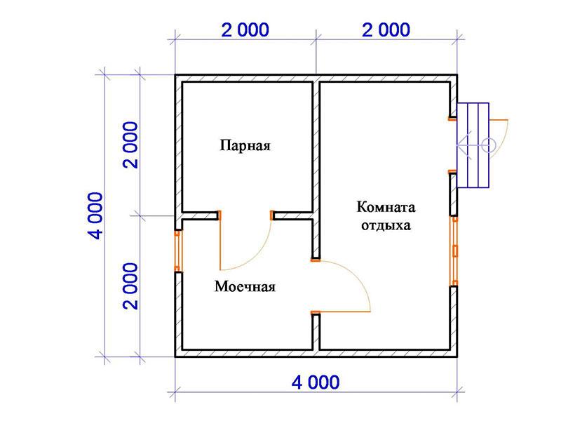 Разделение площади
