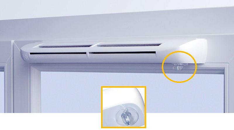 Вентиляционно-приточный клапан