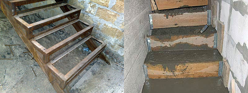 Металлическое или деревянное перекрытие погреба