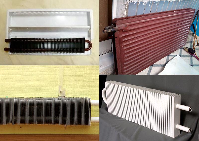 Варианты моделей пластинчатых радиаторов