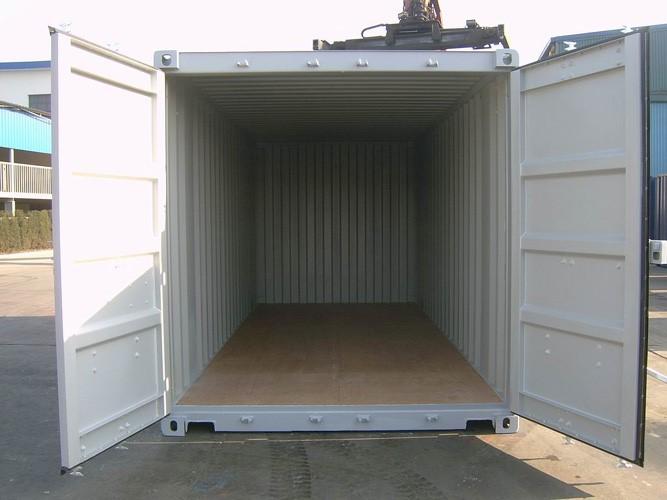 Вид неутепленного контейнера внутри