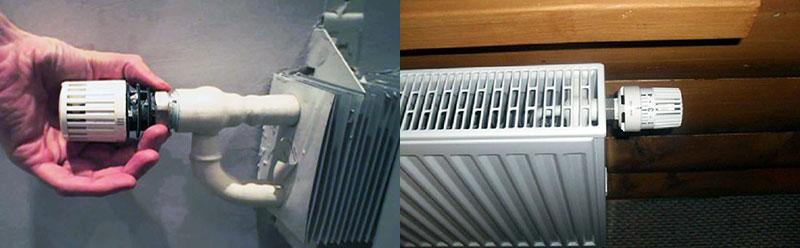 Пластинчатые отопительные радиаторы с термостатом