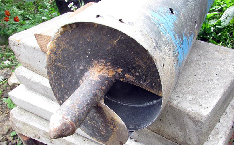 Ручной бур с промывкой шнека