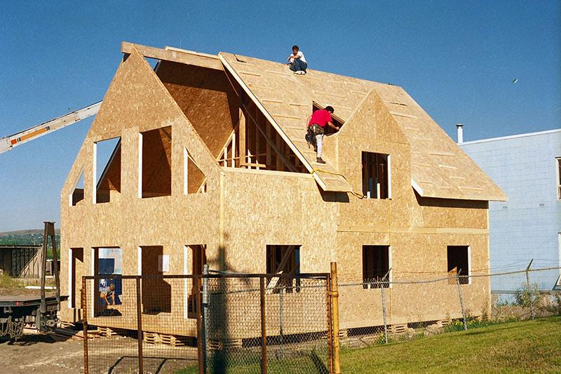 Применение OSB в строительстве – обшивка каркасного дома