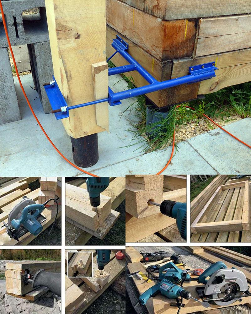 Инструмент для работы с деревом и конструкциями из древесины