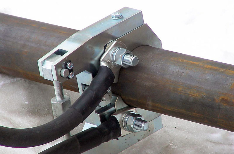 Разморозка железной трубы