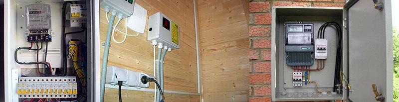 Электрощиты для электрооборудования