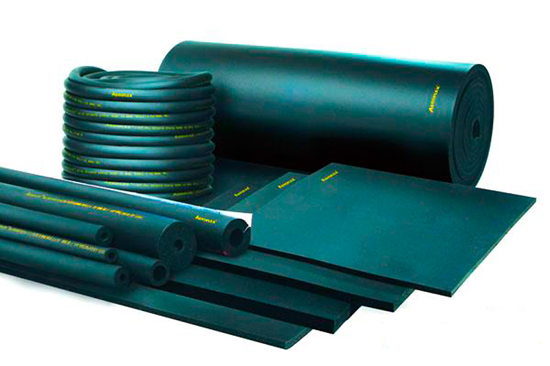 Синтетическая высокотемпературная теплоизоляция для труб