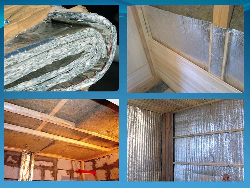 Утепление парного помещения и выбор материалов