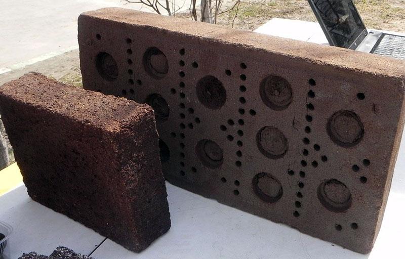 Торфяные блоки