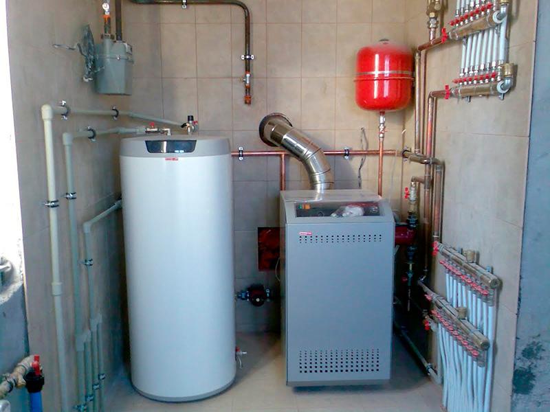 Котельная с газовым агрегатом АОГВ