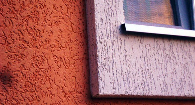 Фасадная краска для штукатурки короед
