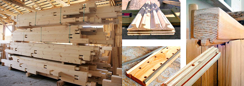Домокомплект деревянного брусового дома