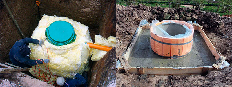Варианты утепления колодца с питьевой водой