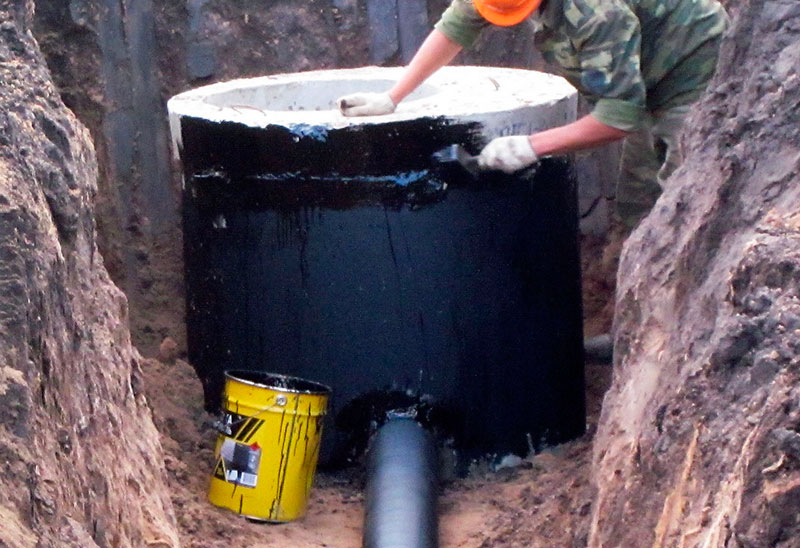 Теплоизоляция канализационного колодца
