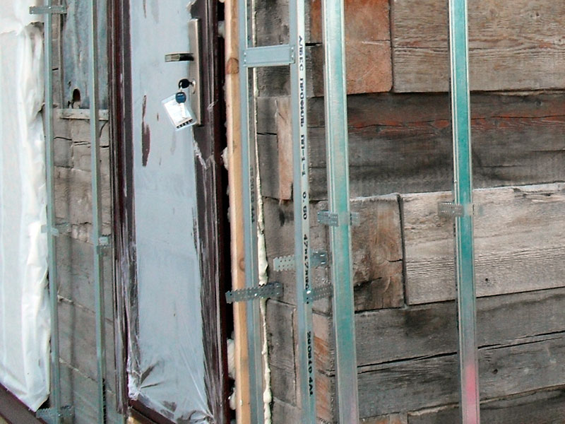 Строительная технология обшивки сайдингом деревянного дома