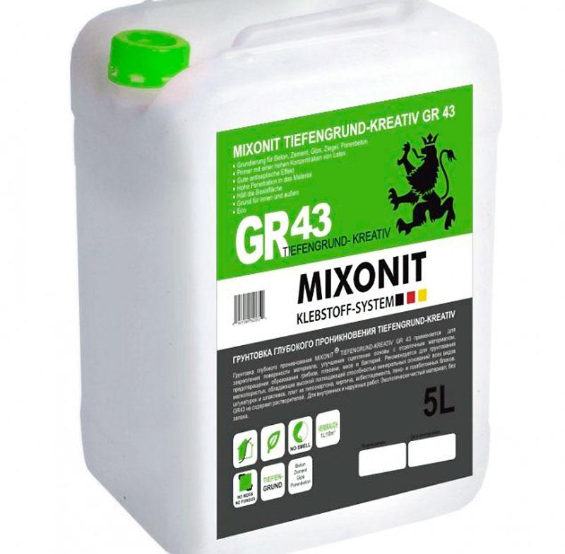 Универсальная грунтовка Mixonit GR43