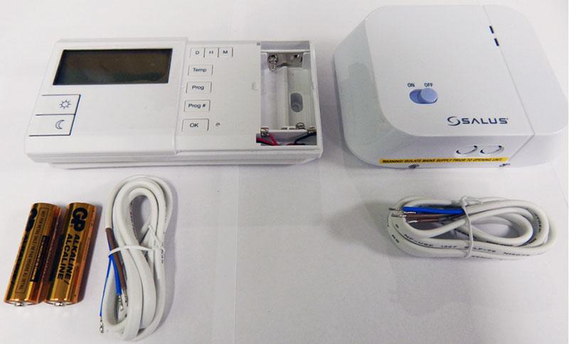 Комнатный термостат с программатором