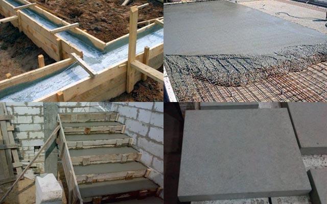 Рисунок 2 – Область применения бетона М200