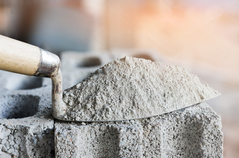 Цемент для формирования бетона