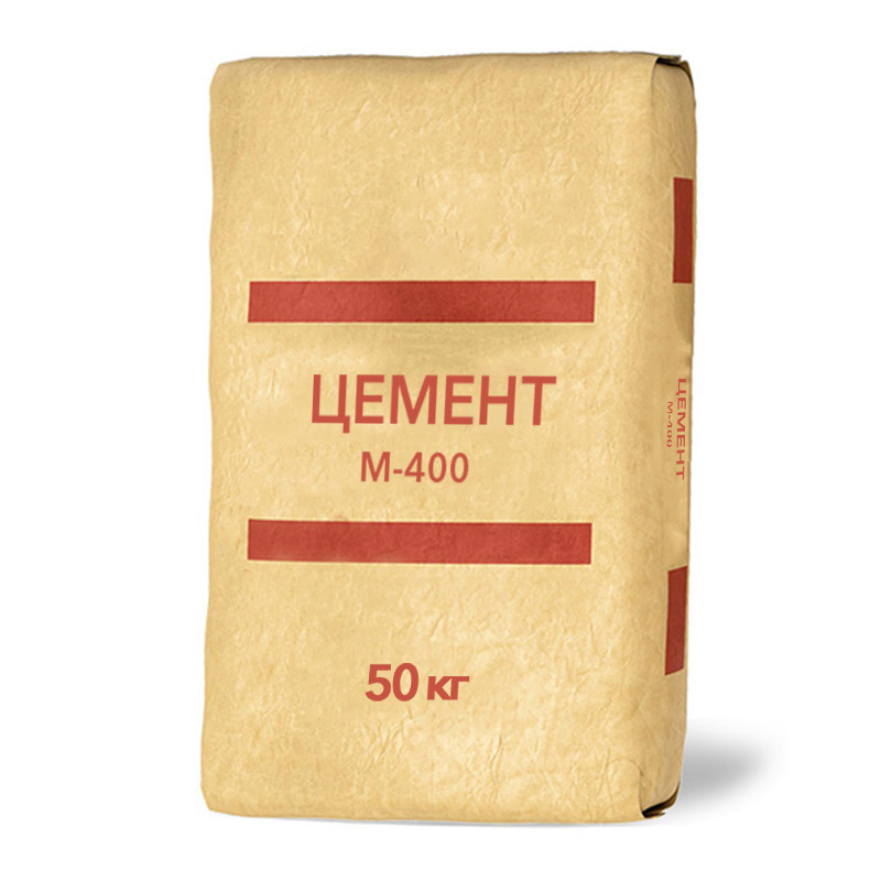 Упаковка цемента с обозначением