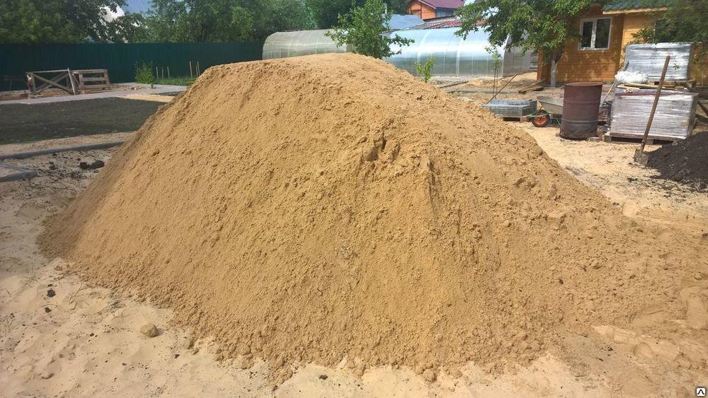 Песок для создания бетонного раствора