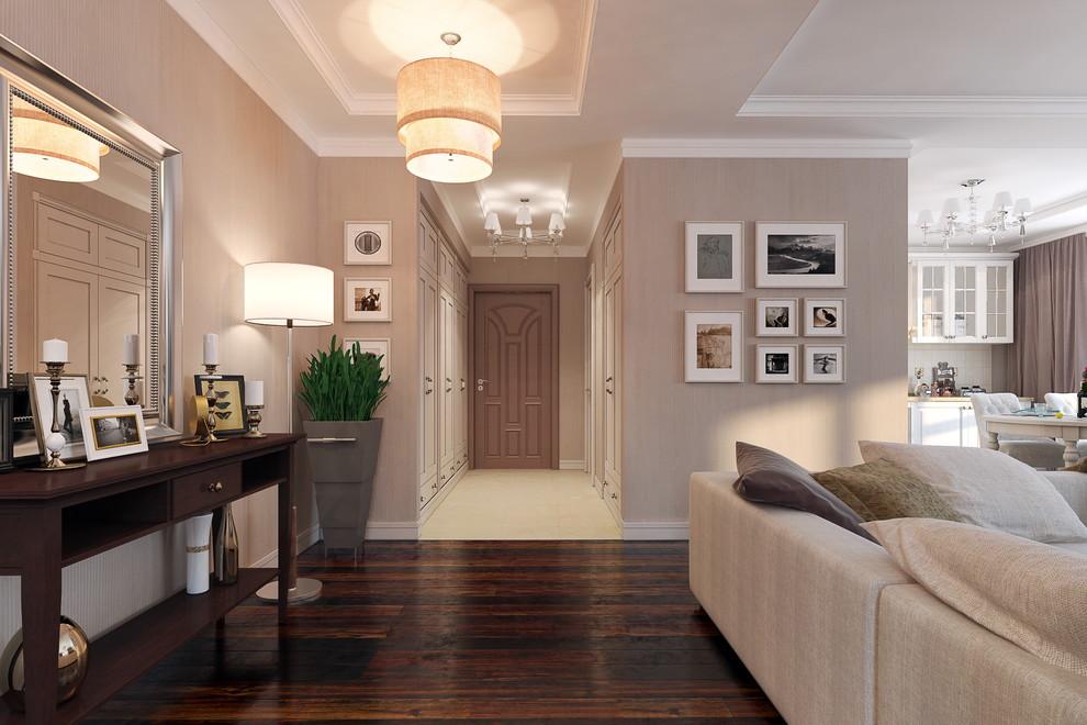 Типичный классический стиль интерьера квартиры