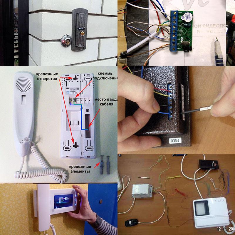 Монтаж и подключение связной аппаратуры