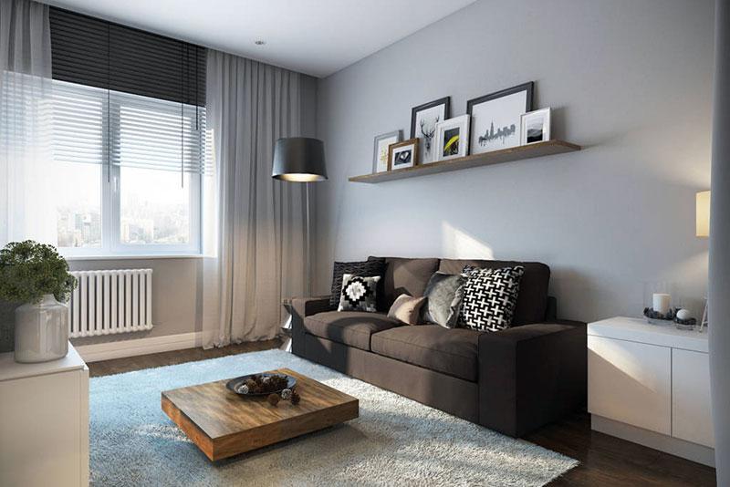 Диван-трансформер в интерьере квартиры