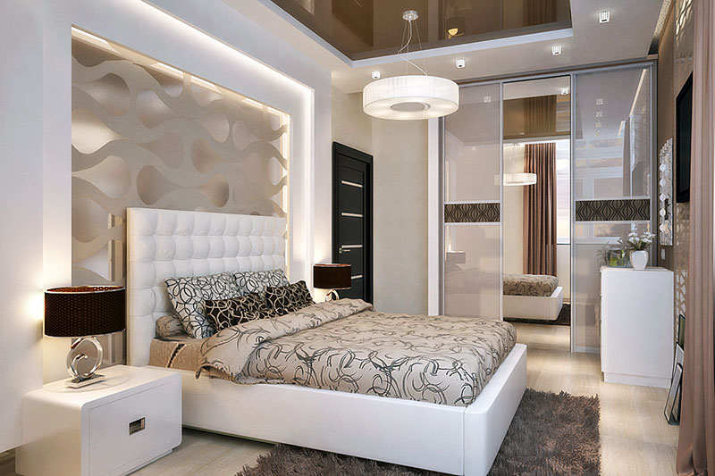 Дизайн спальни для взрослых