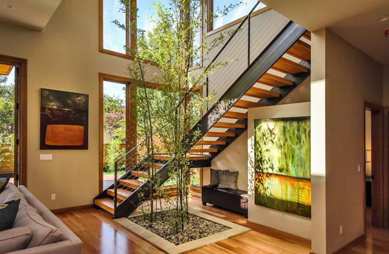 Интерьер и зонирование площади двухэтажного особняка