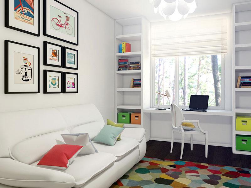 Проект и дизайн детской комнаты на 10 м2
