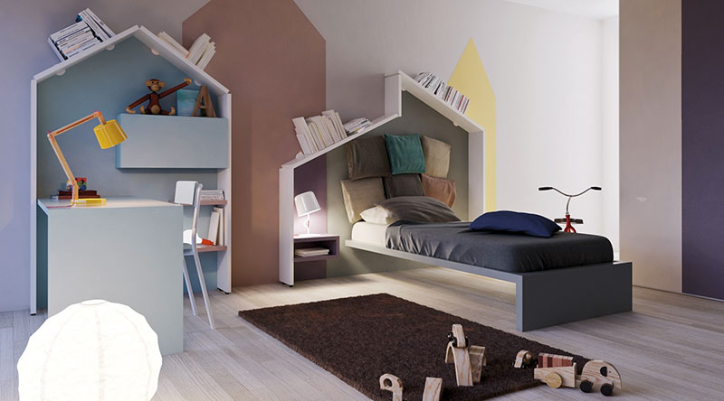 Минималистичная детская кроватка