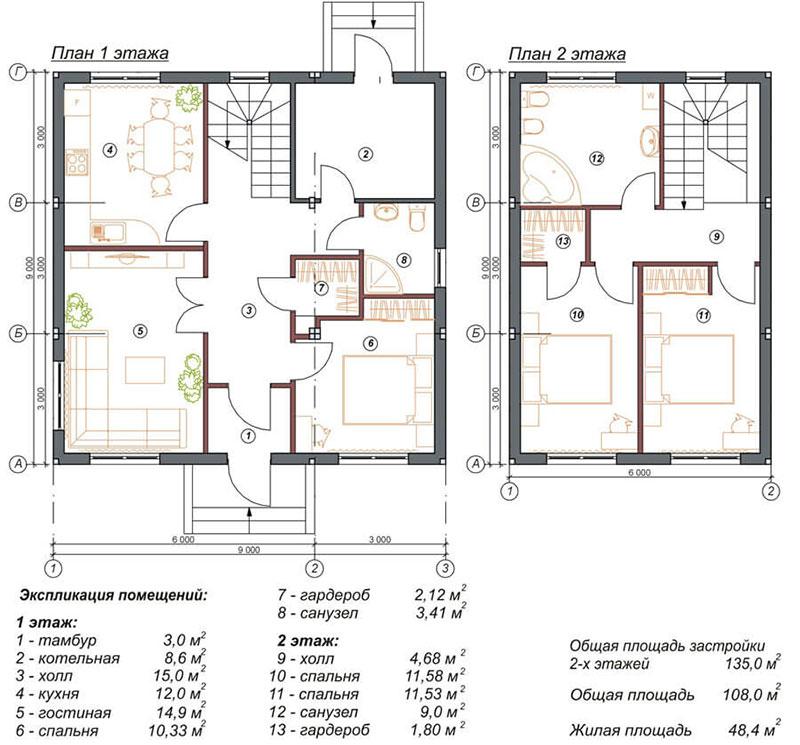 Разработка лестницы на второй уровень