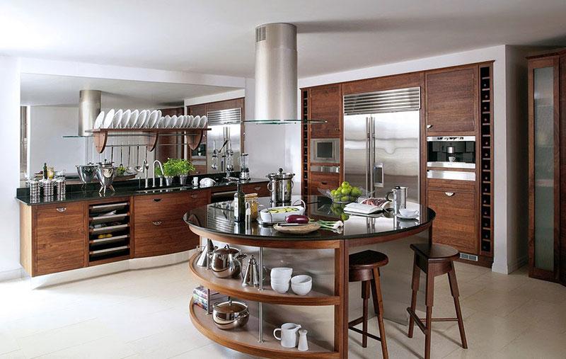 Фото островка на кухне